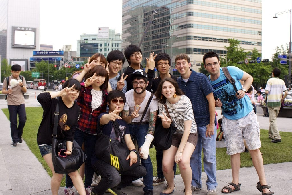 Forward Focussed - Study in South Korea