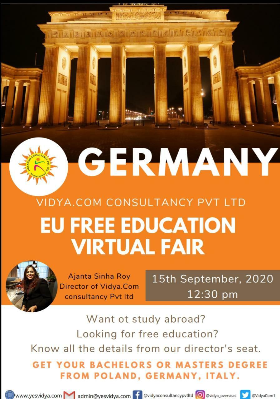 Webinar For Free education in Germany